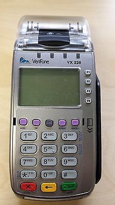 Verifone Vx520nfc Pn M252-653-a3-naa-3 Plus Pin Debit Encrypted For Elavon