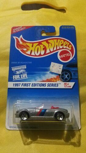 Super Rare 1997 Hot Wheels BMW Z3 M Roadster Silver #518 Err