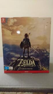 Legend of Zelda Breath of the Wild Limited Edition for Switch