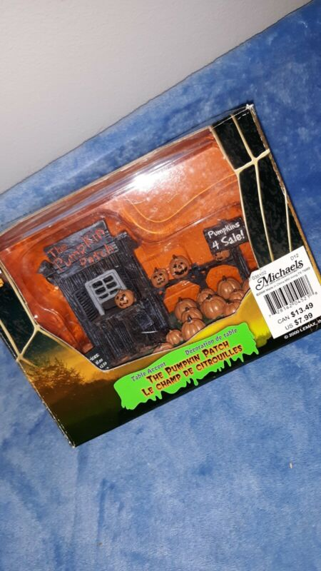Vintage Lemax Spooky Town Collection The Pumpkin Patch Retired 2000 Halloween 🎃
