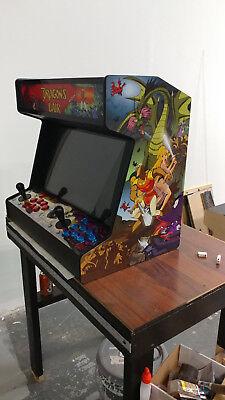 Complete 2 player bartop arcade dragons lair theme
