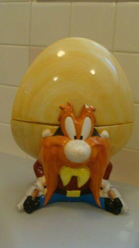 RARE Yosemite Sam With Guns Looney Tunes Warner Bros. Cookie Jar