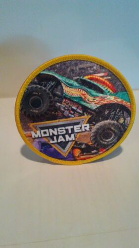 Monster Jam Iron-On Patch