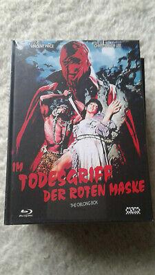Im Todesgriff der roten Maske  Mediabook Cover - Tod Der Roten Maske