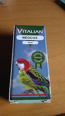 Vitalian Neocox Coccidia Coccidiosis Canaries Parakeets Goldfinch Cockatiel