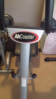 AB COASTER EXERCISE MACHINE