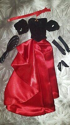 Barbie Winter Splendour 1998 Doll Outfit Clothes gown dress vintage