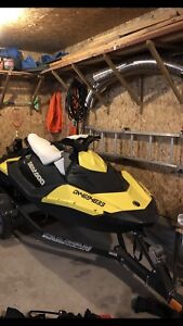 2015 Spark 3 Seater Seadoo IBR. 151 hours, $6500 firm