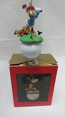 Disney Enesco Treasury of Christmas Teed-off Donald Ornaments