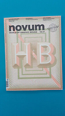 Novum 10/2017  World of Graphic Design deutsch/englisch ungelesen  1A abs. TOP