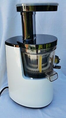 HUROM Premium Slow Juicer/Smoothie Maker - White - HH-WBB07