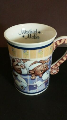 Cat Comical Cat mug Gary Patterson Mischief Maker Mug