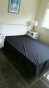 Queen bed box spring base