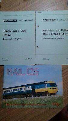 BR Train Crew Manual HST Inter City 125