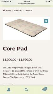 Magnetico core pad