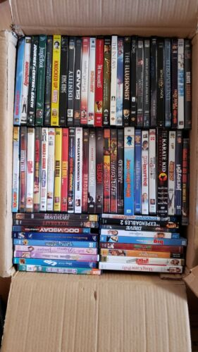 1054 DVD Movies Lot Wholesale Bulk  ALL MOVIES can be seen on pict. Inc blu-ray