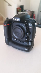 Nikon D750 with battery grip and extra battery