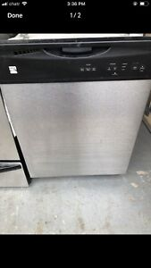 Can deliver Kenmore SET: perfect working Dishwasher mint