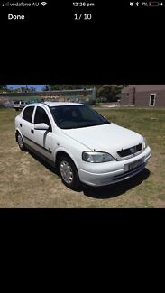 2003 Holden Astra City Manual