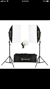 Canadian Studio 1600 W Video Photo Studio Lighting Softbox