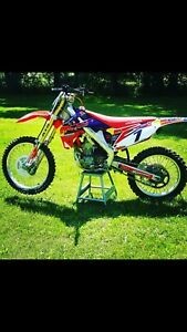 2012 crf 250 GREAT SHAPE
