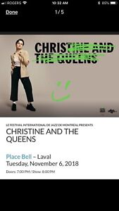 Christine and the queens-concert -loge place bell laval