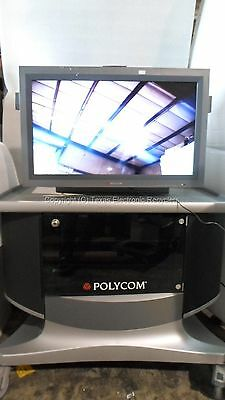 Polycom Sampo L3214xw011 Lme-32xg12p 32 Display W Cart Cambridge C1ply12r