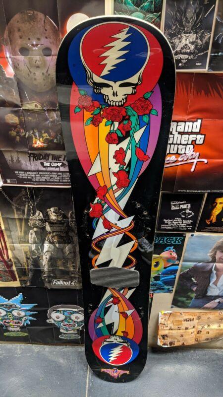 Rare Grateful Dead Lunatic Fringe Burton K2 Snowboard 90