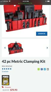 Milling machine clamp kit