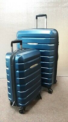 Samsonite Tech Two 2.0 2-piece Hardside Set Luggage Blue (used) 27 & 21