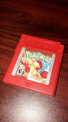 Pokemon Red Version GBC (AUTHENTIC & TESTED)