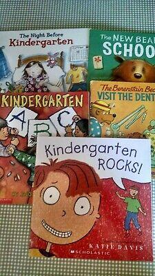 1st Day Of Kindergarten (First Day of Kindergarten Books Scholastic School Lot of 5)