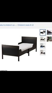 Children's expanding single bed