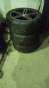 Set of 4 Brut Ute Racing Wheels and Tyres Cabarita Canada Bay Area Preview