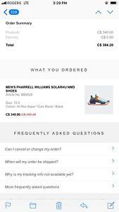 Pharrell Solar Hu Pack NMD Size 10.5