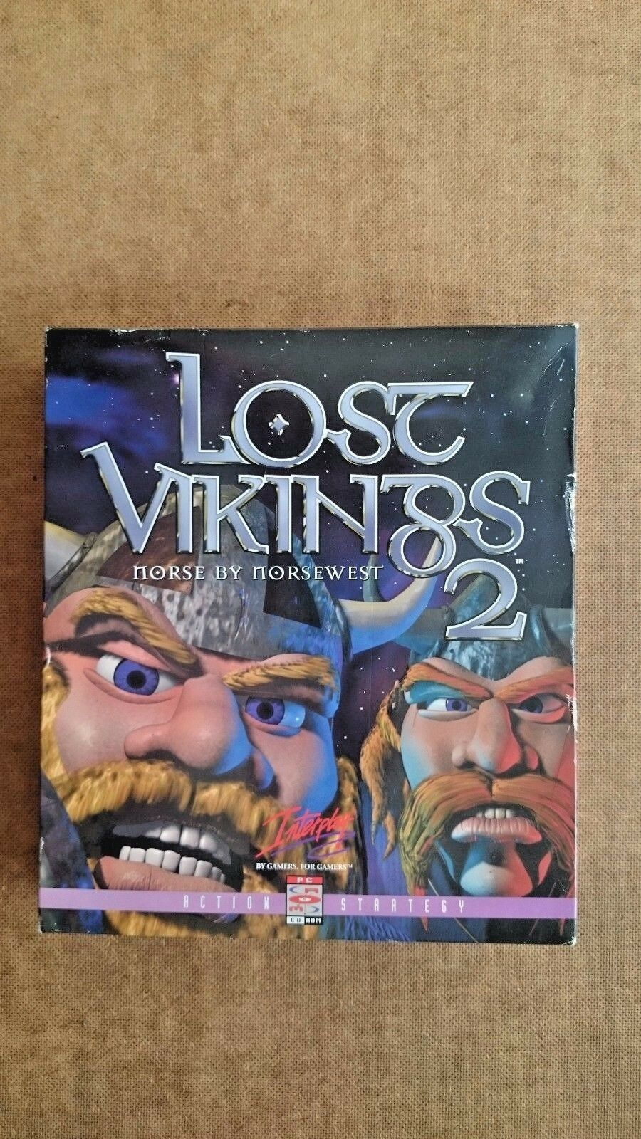 Lost Vikings 2 (PC: DOS/ Windows, 1997) - Big Box Edition