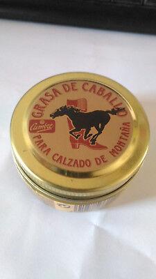 Grasa de caballo de calidad para calzado de montaña piel cuero y...