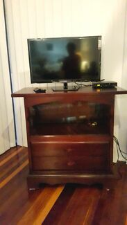 Narra Hard Wood TV Stand/Armoire Indooroopilly Brisbane South West Preview