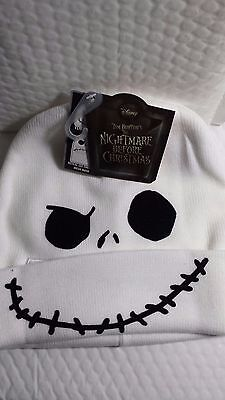 JACK BEANIE HAT FLIP DOWN NIGHTMARE BEFORE CHRISTMAS NEW WITH TAG ONE SIZE