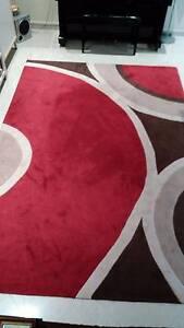 Red Designer Floor Rug Bardwell Valley Rockdale Area Preview