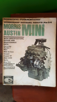 Mini Morris WORKSHOP MANUAL Annandale Townsville City Preview