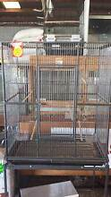Large Bird/Parrot Cage on Stand. Woodville Park Charles Sturt Area Preview
