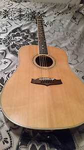 Acoustic guitar Tanglewood  in soft carry case Stafford Heights Brisbane North West Preview