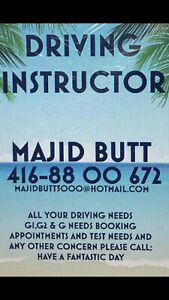 MinistryofTransportationApproved&certified DRIVING INSTRUCTOR