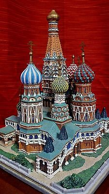 Danbury Mint St. Basil's Cathedral porcelain souvenir building replica
