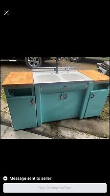 Youngstown Vintage Kitchen Cabinets - original paint