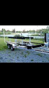 *Brand new 2015* 27 Ft All aluminum tandem axle boat trailer