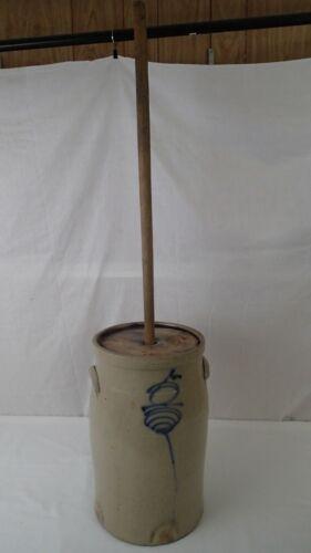 Antique Redwing 5 Gallon Saltglazed Stoneware Beesting Butter Churn EXCELLENT!!