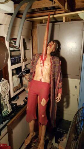 Life size Vlad the Impaler impaled man horror Halloween rare Ripley