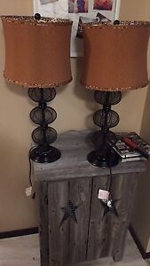 Table lamps both for $25
